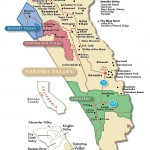 Sonoma Winery Map